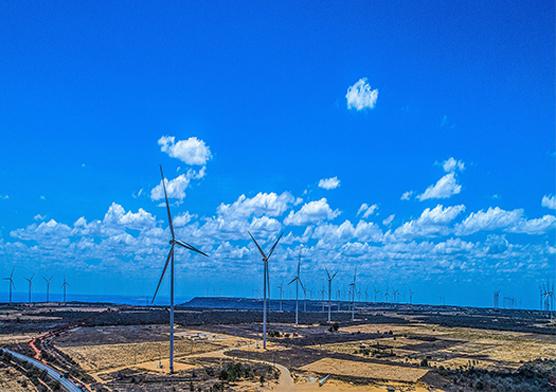 Potencial eolico no Brasil